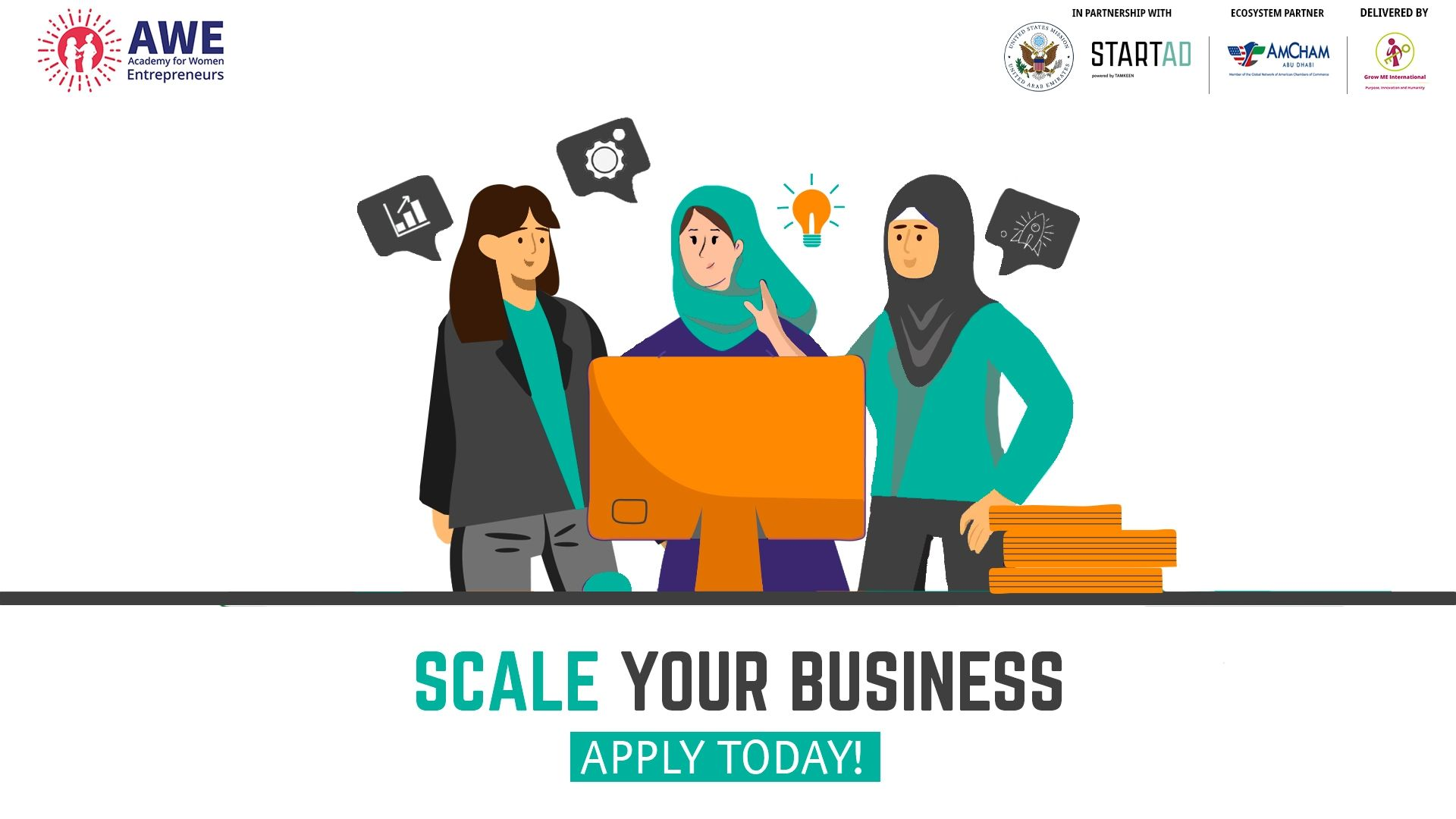 Apply for the second UAE Edition of the Academy for Women Entrepreneurs Program by startAD